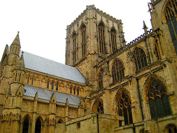Minster Canvas Print by Alison Ward