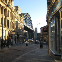 Buy canvas prints of Newcastle by Alison Ward