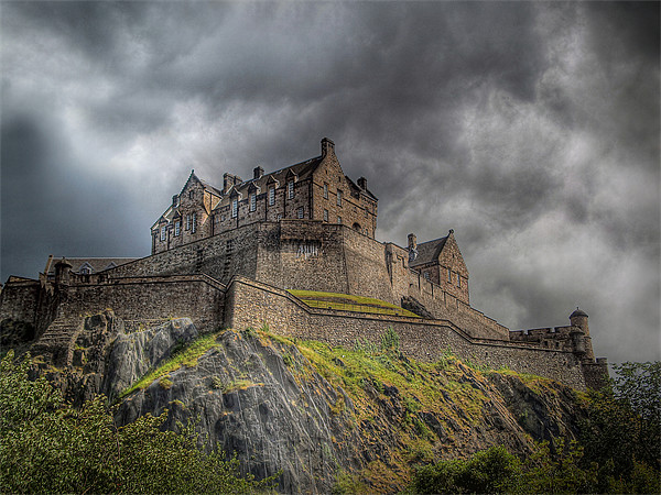 Edinburgh Castle Scotland Canvas print by Finan Fine Art Prints