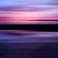 Buy canvas prints of Beach Abstract by Finan Fine Art Prints