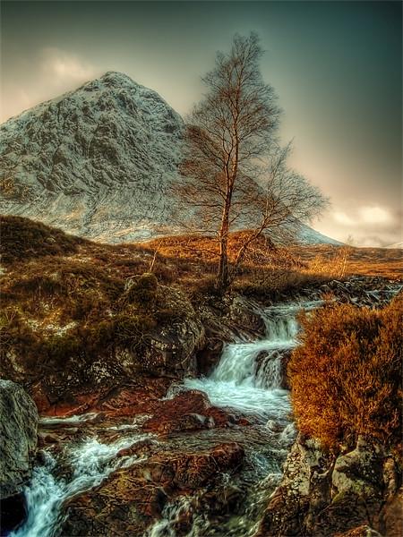 The Buachaille Etive Mor Scotland Canvas print by Finan Fine Art Prints