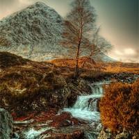 Buy canvas prints of The Buachaille Etive Mor Scotland by Finan Fine Art Prints