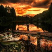Buy canvas prints of Loch Ard, Scotland by Finan Fine Art Prints