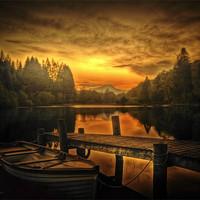 Buy canvas prints of Spring Silence by Finan Fine Art Prints