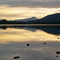 Buy canvas prints of Silence on Lake Of Menteith by Finan Fine Art Prints
