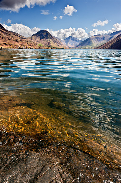 Wast Water Canvas print by Stephen Mole