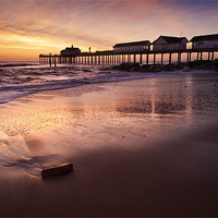 Buy canvas prints of Early Morning Glow over Southwold by Stephen Mole