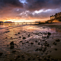 Buy canvas prints of Cromer Pier by Stephen Mole