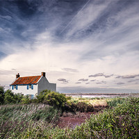 Buy canvas prints of House at Brancaster Staithe by Stephen Mole