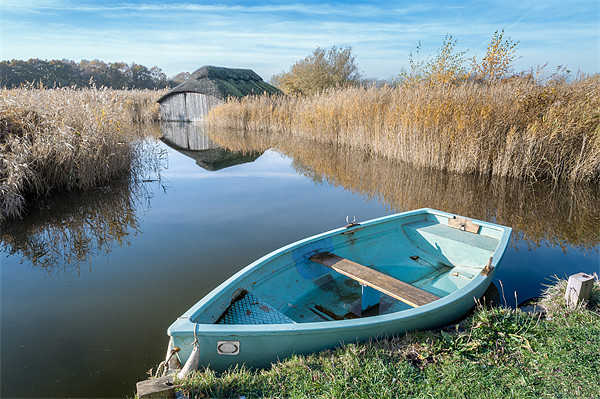 Hickling Boathouse Canvas print by Stephen Mole