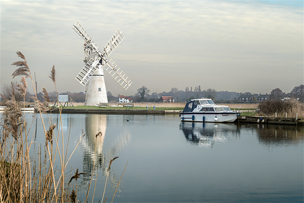 Thurne Mill Canvas print by Stephen Mole