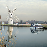 Buy canvas prints of Thurne Mill by Stephen Mole