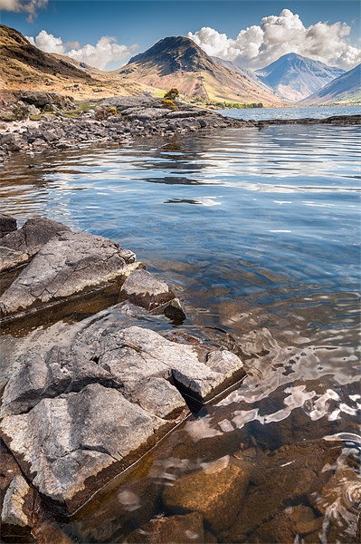 Wastwater Framed Mounted Print by Stephen Mole