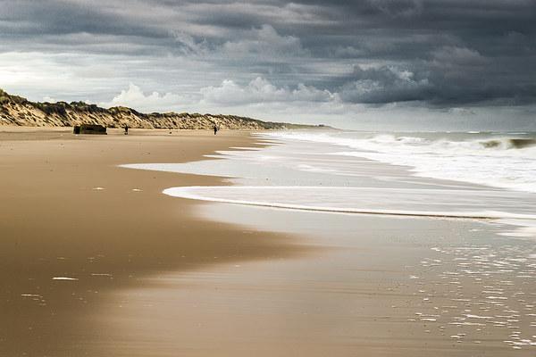 Hemsby Beach Canvas Print by Stephen Mole