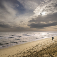 Buy canvas prints of Hemsby Beach by Stephen Mole