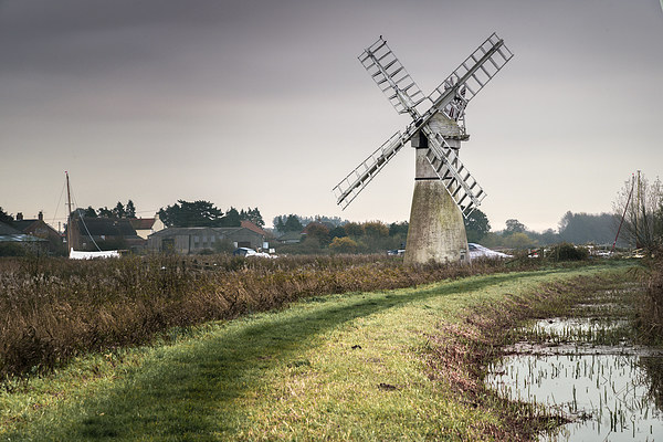 Thurne Mill Framed Mounted Print by Stephen Mole