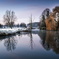 Buy canvas prints of Frost at Coltishall by Stephen Mole