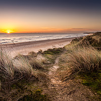 Buy canvas prints of Winterton to Hemsby by Stephen Mole