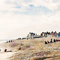 Buy canvas prints of Aldeburgh Beach as Monet would've viewed it - may by Stephen Mole