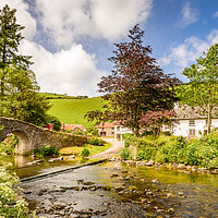 Buy canvas prints of Doone Valley by Stephen Mole