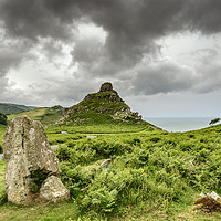 Buy canvas prints of The Valley of the Rocks by Stephen Mole