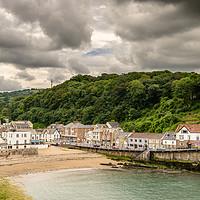Buy canvas prints of Combe Martin, North Devon by Stephen Mole
