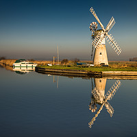 Buy canvas prints of Light on Thurne Mill  by Stephen Mole