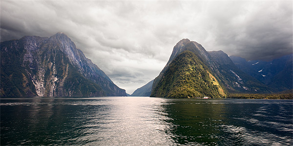 Milford Sound Canvas print by Stephen Mole