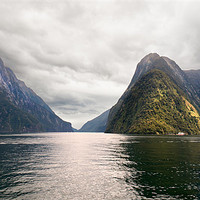 Buy canvas prints of Milford Sound by Stephen Mole