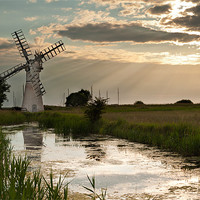 Buy canvas prints of Thurne Dyke MIll by Stephen Mole