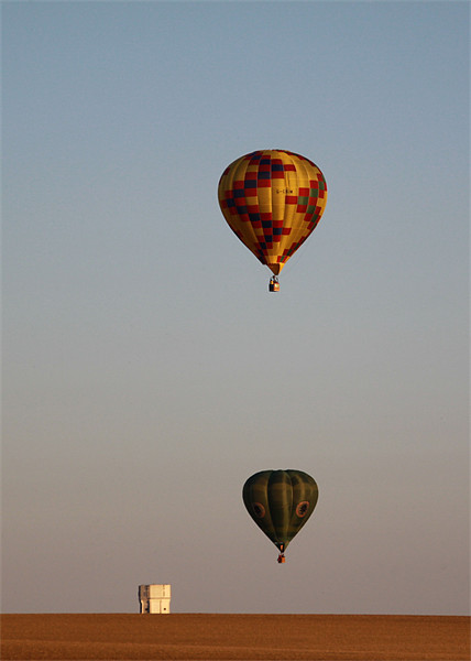 Balloons Canvas print by Colin Johnson
