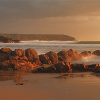 Buy canvas prints of Dollar Cove by allen martin
