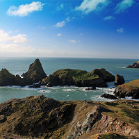 Buy canvas prints of Kynance Cove by allen martin