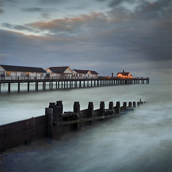 Southwold Pier Canvas print by James Rowland