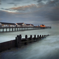 Buy canvas prints of Southwold Pier by James Rowland