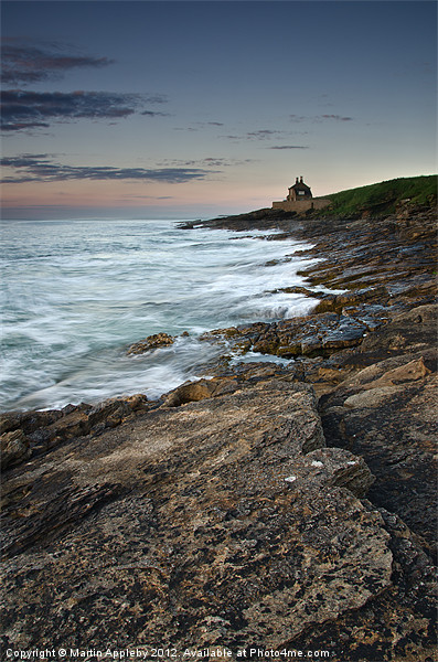 The Old Bathing House Canvas print by Martin Appleby