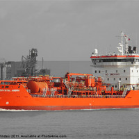 Buy canvas prints of CRYSTAL AMBRA TANKER 1 by Dave Windsor