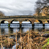 Buy canvas prints of 5 Arches in hdr by Dave Windsor