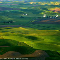 Buy canvas prints of First light on the Palouse by Mike Dawson