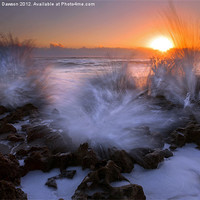 Buy canvas prints of Sunrise Explosion by Mike Dawson