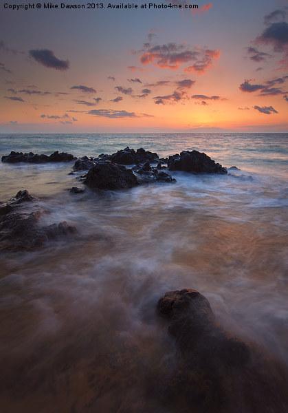 Engulfed by the Sea Acrylic by Mike Dawson