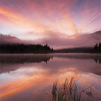 Buy canvas prints of Heavenly Skies by Mike Dawson