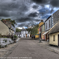 Buy canvas prints of Before the Storm - Bunratty Folk Park by Andreas Hartmann