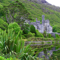 Buy canvas prints of Abbeys of Ireland - Kylemore 2 by Andreas Hartmann