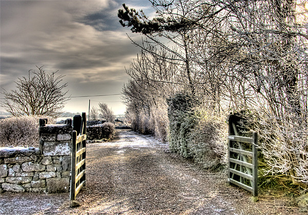 Cottage gate Canvas print by Andreas Hartmann