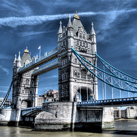 Buy canvas prints of Tower Bridge by Andreas Hartmann