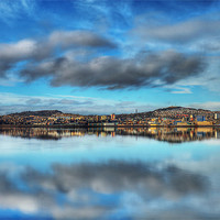 Buy canvas prints of Dundee Reflections by Andrew Beveridge