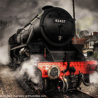 Buy canvas prints of The Black Five by Rob Hawkins