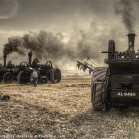 Buy canvas prints of Steaming Giants by Rob Hawkins