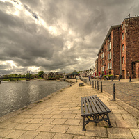 Buy canvas prints of Exeter Quay by Rob Hawkins
